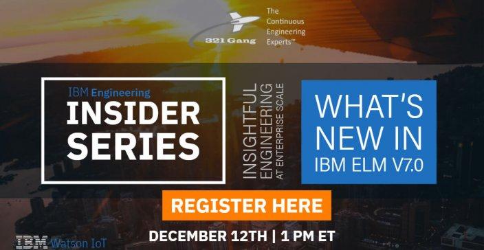 What's New in IBM ELM v7.0