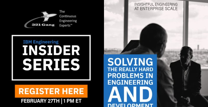 Solving the Really Hard Problems in Engineering & Development