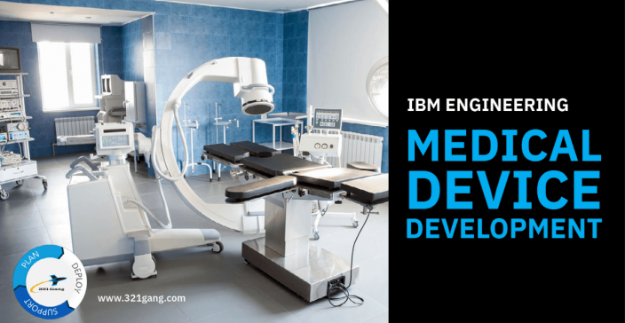 321 Gang + IBM ELM solutions for Medical Device Development