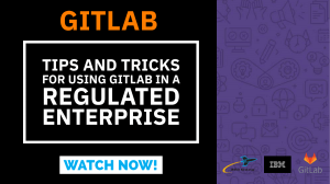 Webinar - How to implement and enforce your corporate governance policies around traceability for compliance while allowing your software teams to use GitLab. This demonstration will include how to enforce linking of code commits in GitLab to work items in Engineering Workflow Manager. And, how those work items link to Requirements and Test data for compliance.